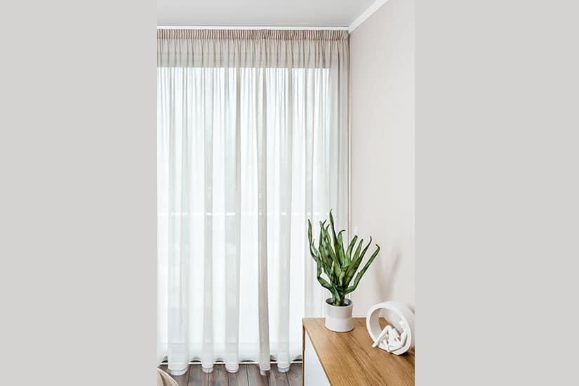 cortinados franzido