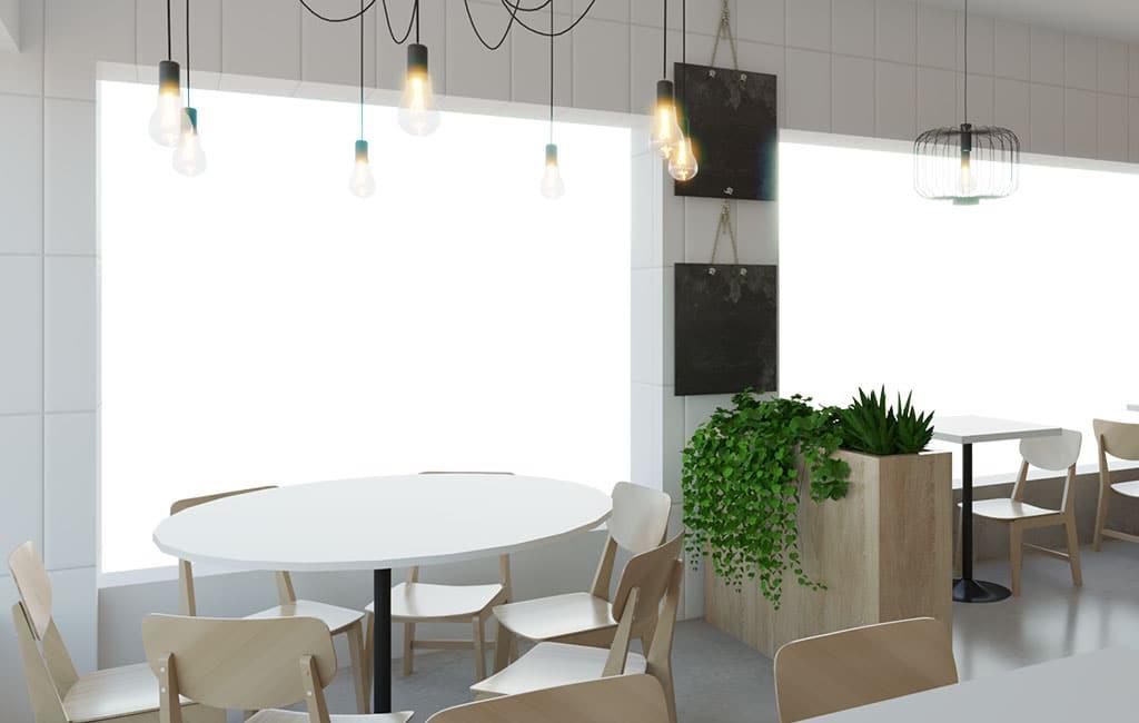 design comercio renovacao cafe glim