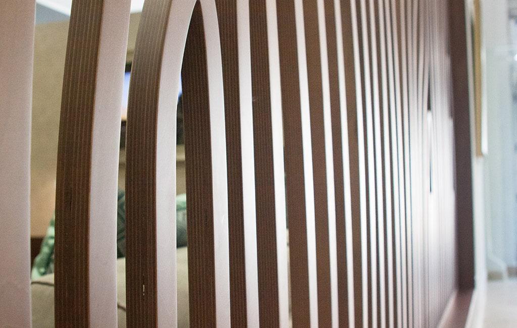 divisoria vazada mobiliario Design produto Glim
