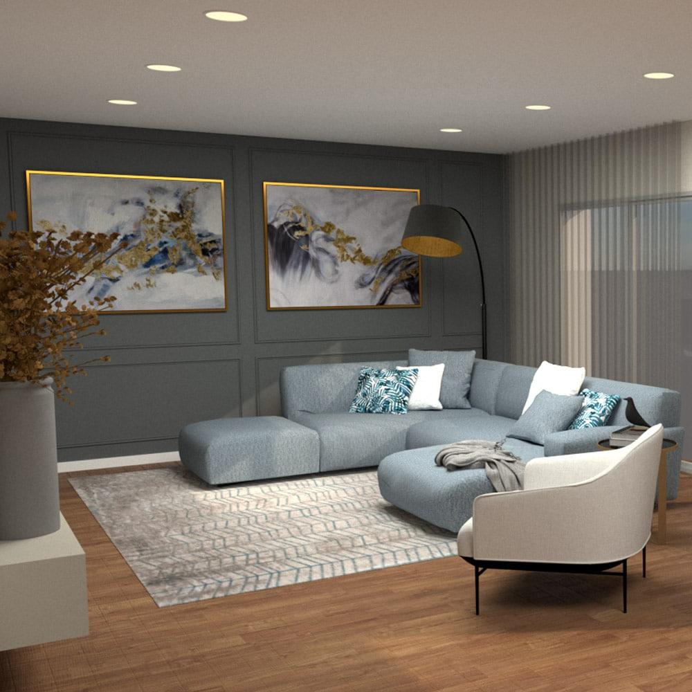 projetod design interiores Glim CAPA