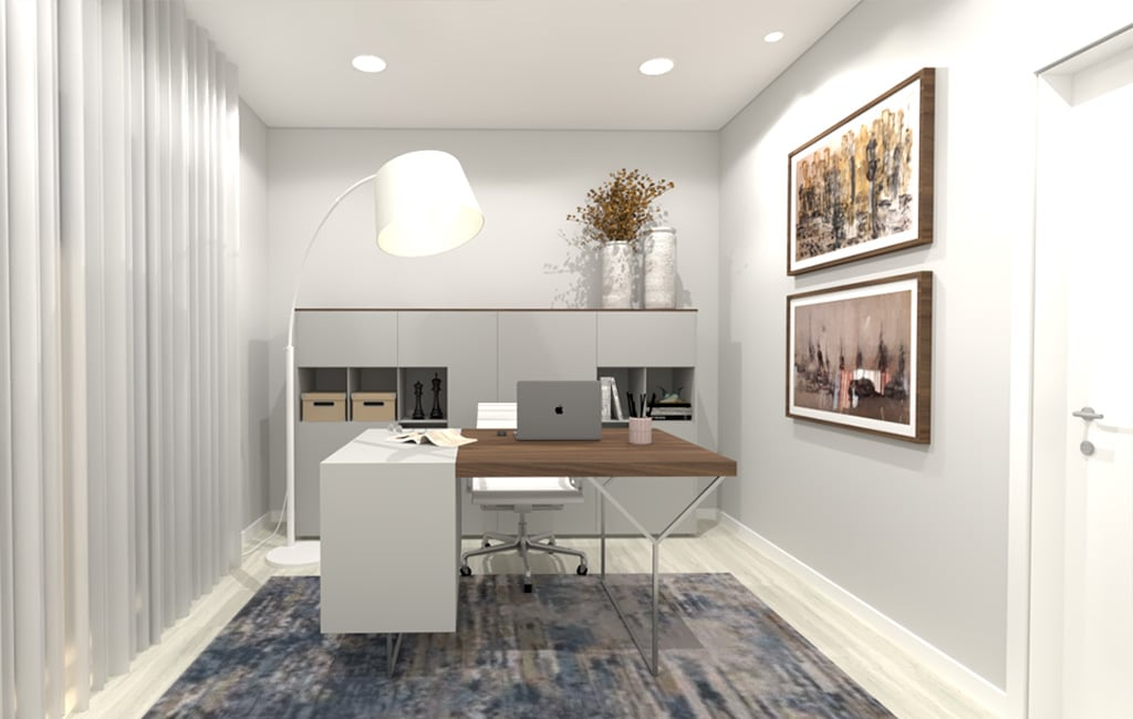 sala glim intereiores design decoração projetod